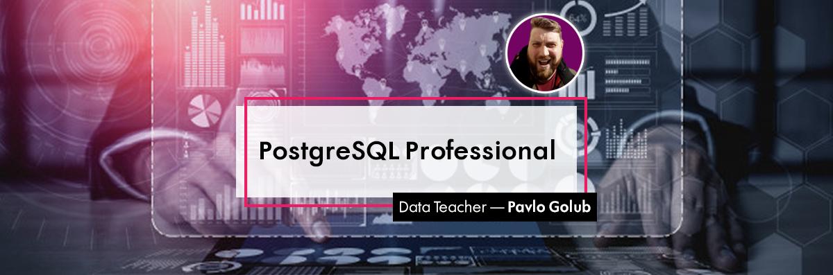 PosgreSQL Professional online course